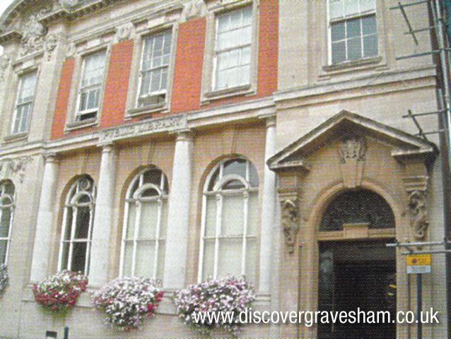 West Front of Gravesend Library