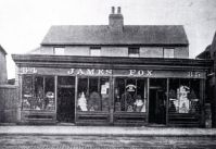 Grocers Shop of James Fox