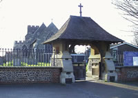 Lych gate, St Botolphs church
