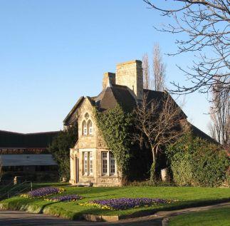 Cemetery Lodge at Northfleet Cemetery